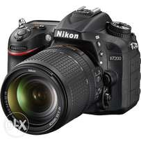 Nikon D7200 DSLR Camera with 18-140mm Lens FREE 32gb memory card
