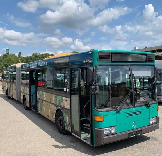 Mercedes-Benz O 405 G/Dachklima/ Hochboden/61 Sitze/93 Stehpl. - 1996