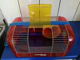 Unique Hamster or Gerbil Cage / House with all Extras
