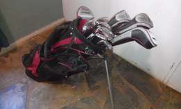 WILSON Deep Red Golf Clubs
