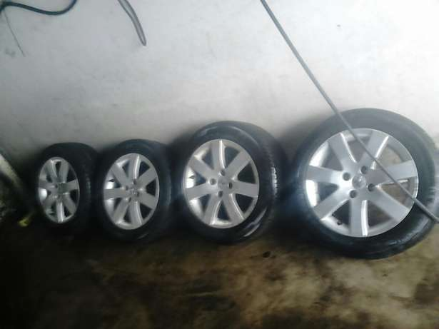 16 inch mags to fit ford peugeot citroen Durban - image 1