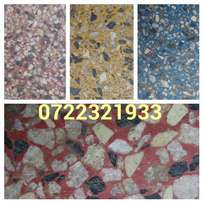 Terrazzo cleaning and installation