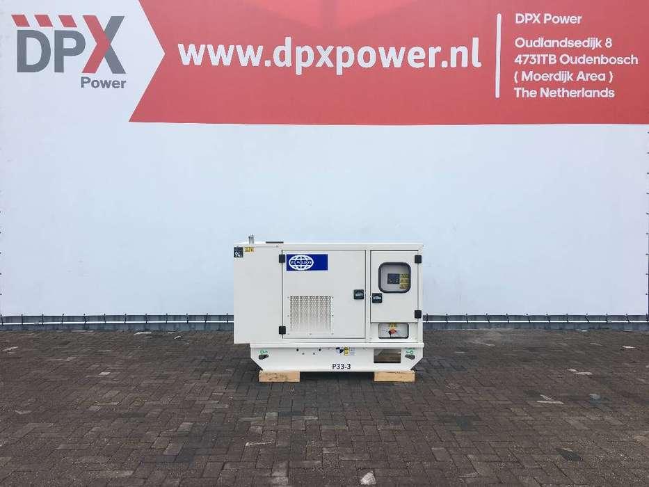FG Wilson P33-3 - 33 kVA Generator - DPX-16003 - 2019
