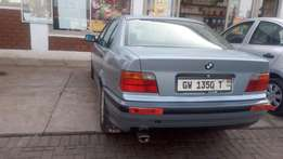 Well kept bmw used by lady pastor