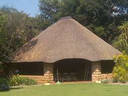 thatching ,lapa builders, repairs, fire proofing