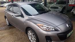 2012 Mazda 3 1.6 Sport Dynamic Manual 5Dr Hatch