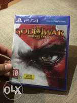God of war 3 for Ps4
