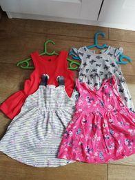 Sukienki letnie 104 110 np. h&m Strzelce Opolskie • OLX.pl