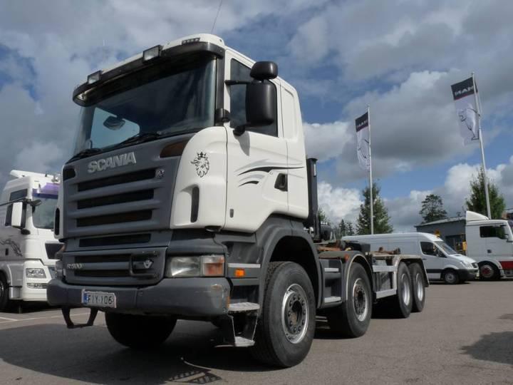 Scania R500 8x4 - 2008