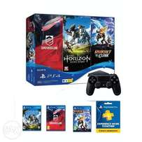 play station 4 console with 3 GAMES FREE
