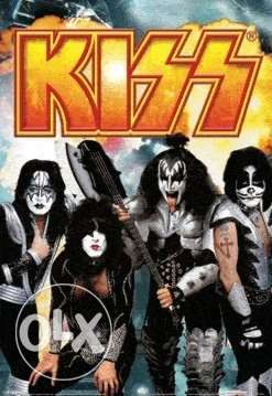 the who - kiss 3d lenticular posters 67*47cm