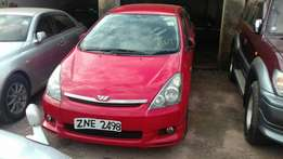 Red flavored Toyota wish