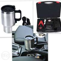 Car jumpstarter and car electric cup