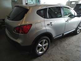 Nissan Dualis with moonroof