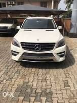 2013 Mercedes Benz ML 550 AMG package