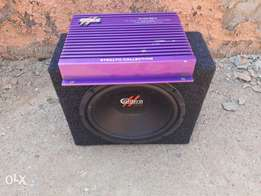 caliclbra subwoofer and amp