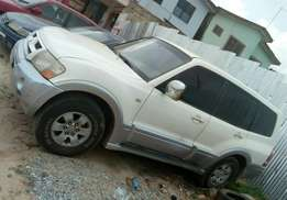 Pajero for sale at affordable price.