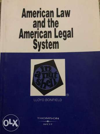 American Law and the American legal system