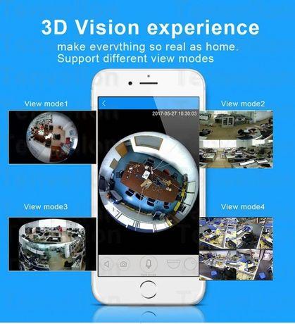 HD 960 P 3D VR Wi-Fi Камера 360 градусов рыбий глаз IP 1.3MP Новоселица - изображение 2