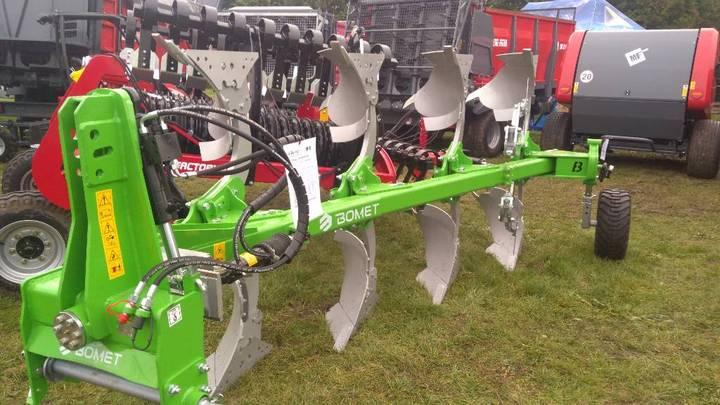 Bomet U064/1 3+1 Reversible Plough, Kvernelad Type - 2019