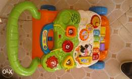 baby walker with kids piano