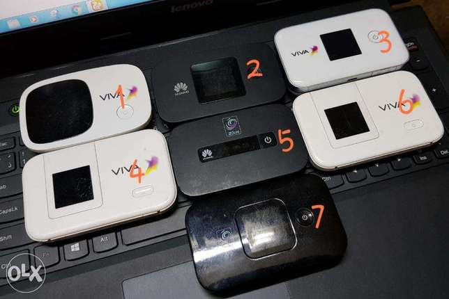 viva & zain 4G unlocked mifi for sell