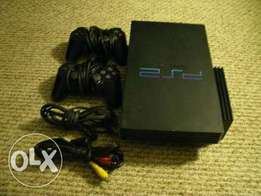 Used and clean PS2 console