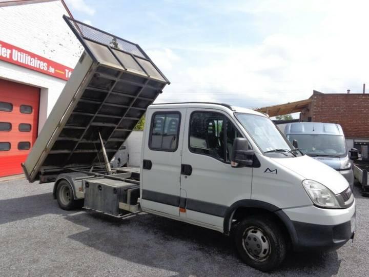 Iveco Daily 50 C 18 dble cab tri-benne 11850€ HTVA - 2011