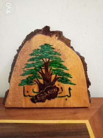 Hand made wood souvenir from Lebanon.