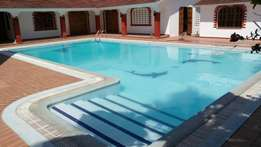 Executive own compound fully furnished villa with pool in Nyali area