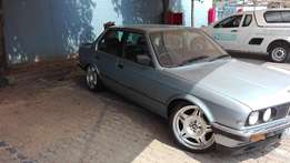 Bmw e30 320i to swop for vw caddy or tazz