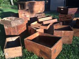Old Style Storage Boxes