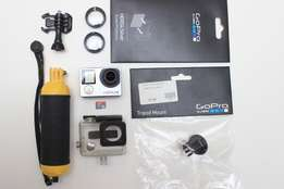 Gopro 4 Silver with extra's