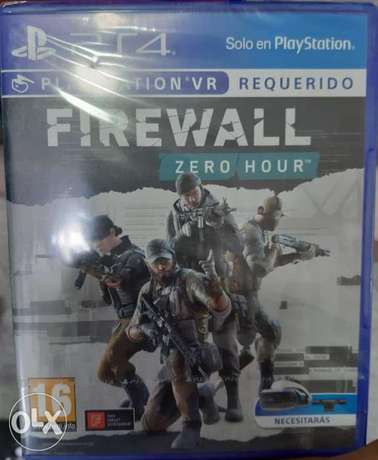 Firewall zero hour for Playstation vr /\ جديده