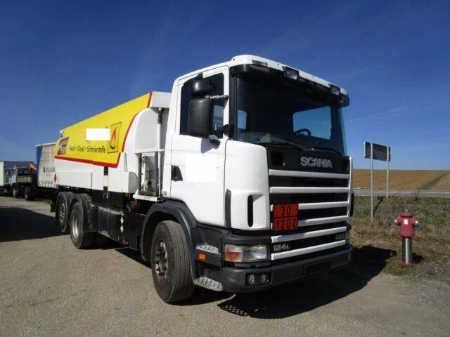 Scania 124 420, 6x2,euro3, Diesel, Heizöle, 19500 Liter - 2004