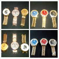 Designer Rolex wrist watch