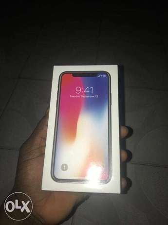 Brand New Sealed in box IPHONE X 64GB Space Gray Ikeja - image 1