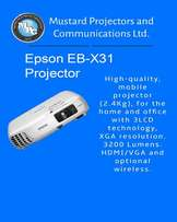 New arrivals,best price in town,Epson EB-X31 Projector!