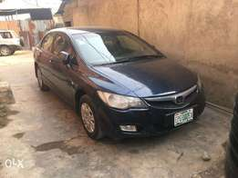 Registered Honda Civic