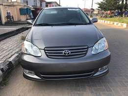 Direct Tokunbo Extremely Toyota Corolla Sport