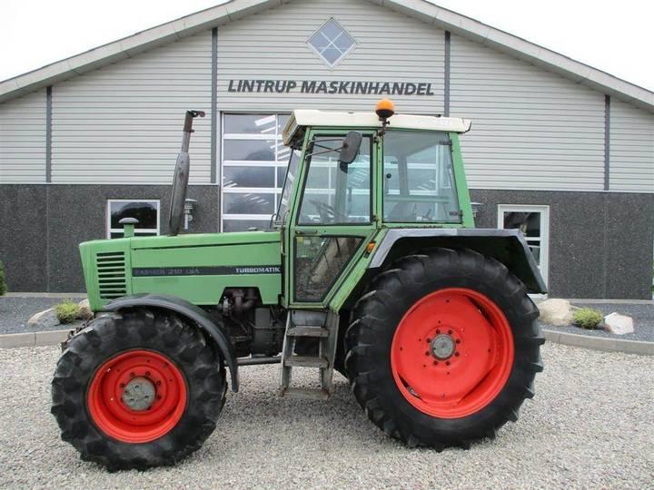 Fendt 310lsa Turbomatic - 1986