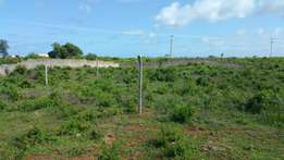 Mtwapa Plots for sale