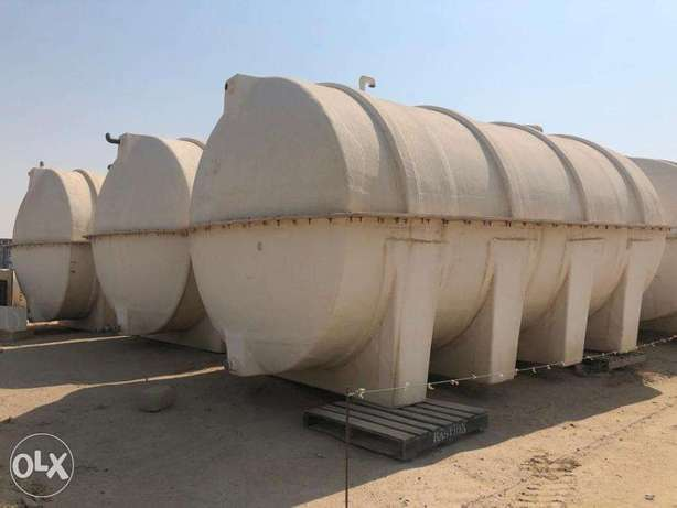 GRP Water tanks are available 10K- US Gal