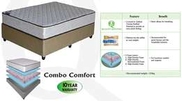 Double Bed - Combo Comfort