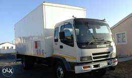 Truck hire and removal