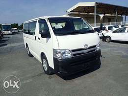 2011 model Toyota hiace