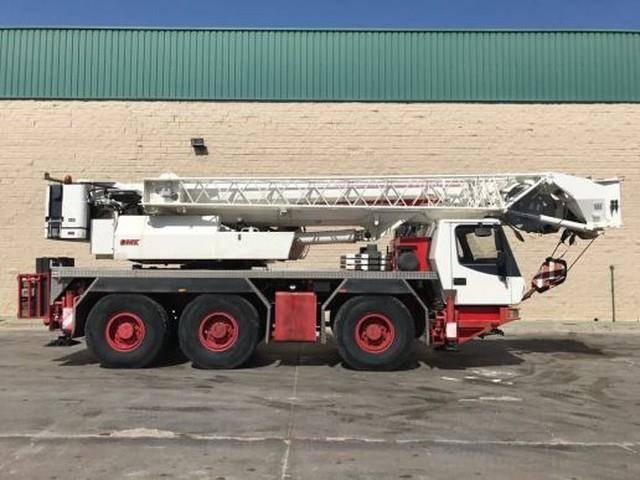 Grove GMK 3055 55tons 6x6 Crane FLY JiB 58m - 2008
