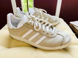Buty Adidas Samba40 BZ0057 bia?e Sneakersy gAzelle m?skie
