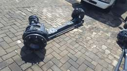 Daf xf105 front steering axle complete