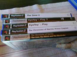 Eye Toy PS2 games bundle for sale